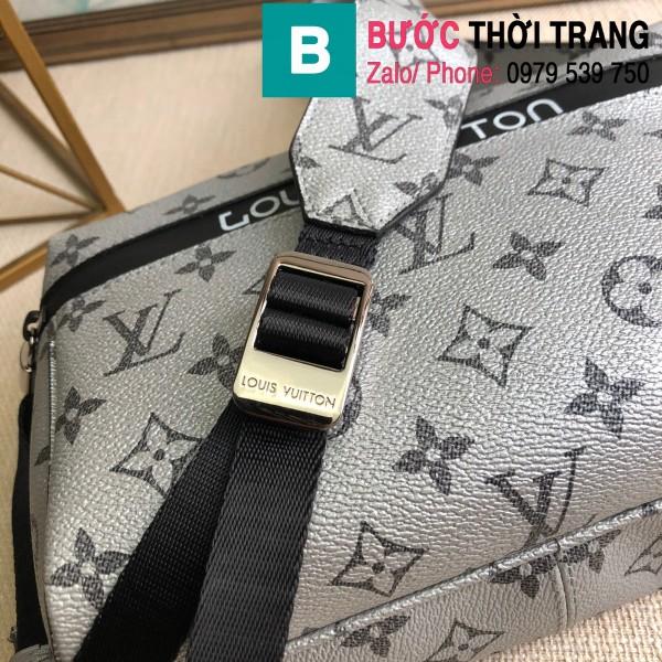 Túi xách Louis Vuitton Messenger siêu cấp monogram màu xám size 25cm - M43843