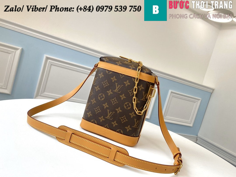 Túi Louis Vuitton Milk Box Retro Comfortable Presbyopia - LV M61111