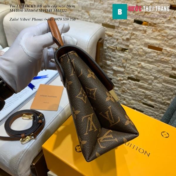Túi LV LOCKY BB siêu cấp size 20cm màu nâu - M44654