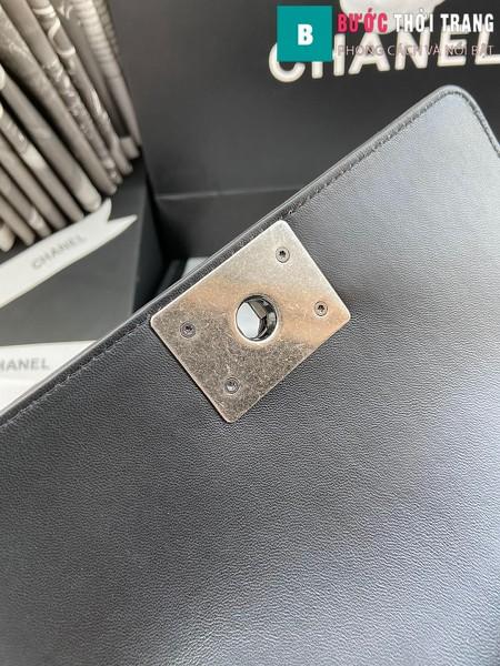 Túi xách Chanel boy siêu cấp python leather màu 9 size 20 cm - A94805