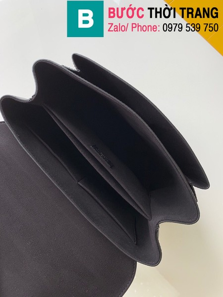 Túi xách Louis Vuitton Mylockme siêu cấp da bê màu đen size 28 cm - M54849