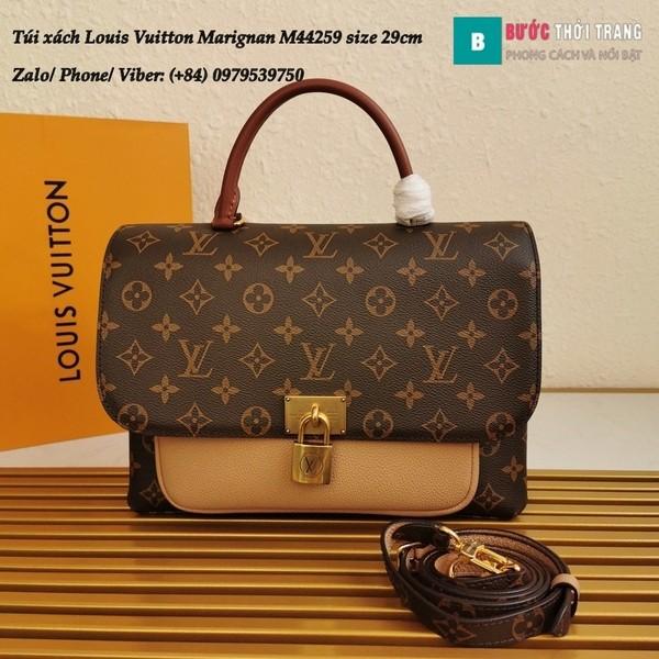 Túi xách LV Marignan siêu cấp màu nude size 29cm kiểu xách tay - M44259