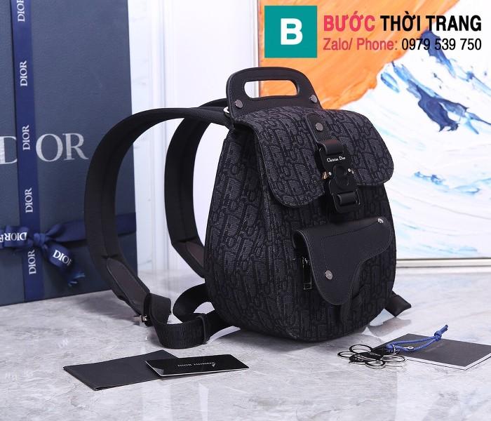 Túi ba lô Dior Homme Oblique siêu cấp vải casvan màu 1 size 27.5cm - 93313