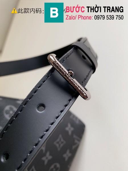 Túi Louis Vuitton Briefcase Explorer Monogram siêu cấp màu đen size 39 cm - M40566