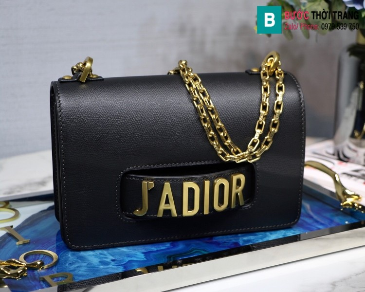 Túi xách Dior J'adior siêu cấp da xước màu nâu bò size 25cm
