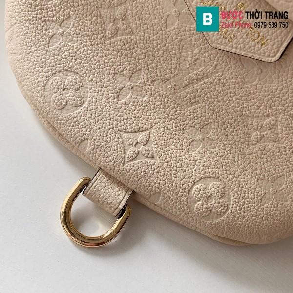 Túi xách Louis Vuitton Bumbag siêu cấp màu trắng size 23 cm - M44836