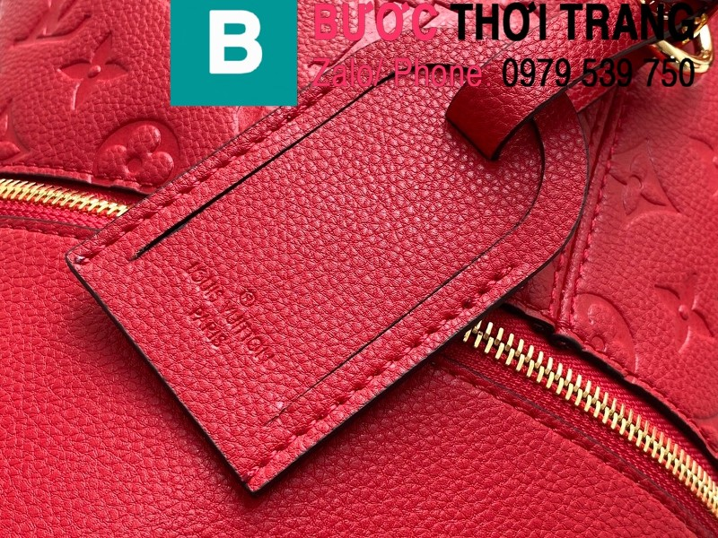 Túi xách LV Louis Vuitton Melie siêu cấp da bò màu đỏ size 31cm - M44014