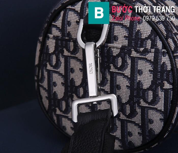 Túi xách Dior Roller Oblique Messenger Bag siêu cấp vải casvan màu 3 size 21.3cm - 93304