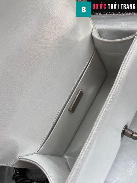 Túi xách Chanel boy siêu cấp da trăn màu 1 size 20 cm - A94805