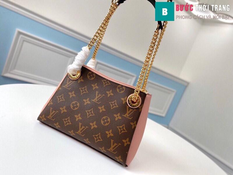 Túi xách LV LOUIS VUITTON Surene BB Chain Shoulder Bag siêu cấp màu hồng size 24cm - M43777