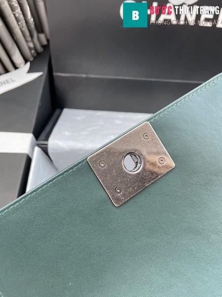Túi xách Chanel boy siêu cấp da trăn màu 4 size 20 cm - A94805