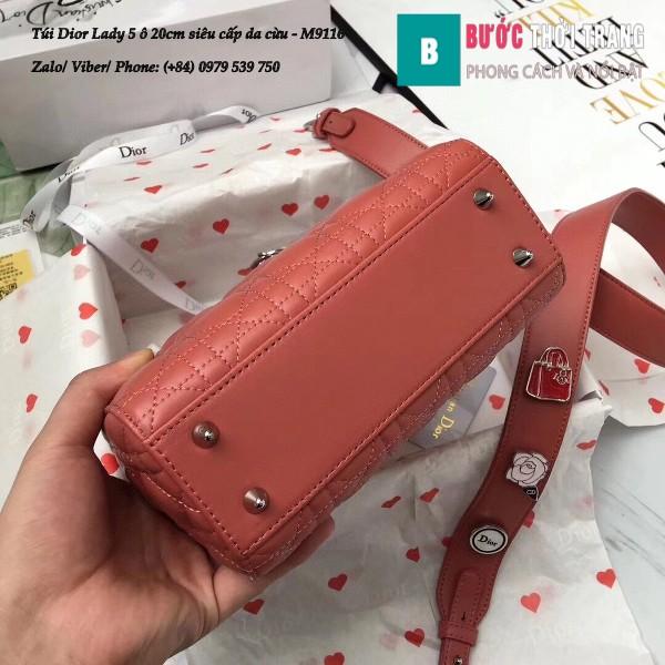 Túi Dior Lady 5 ô siêu cấp size 20cm