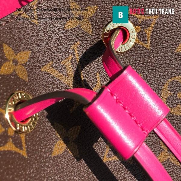 Túi xách LV Louis Vuitton Neo Noe siêu cấp dây màu hồng đậm size 26cm - M43570