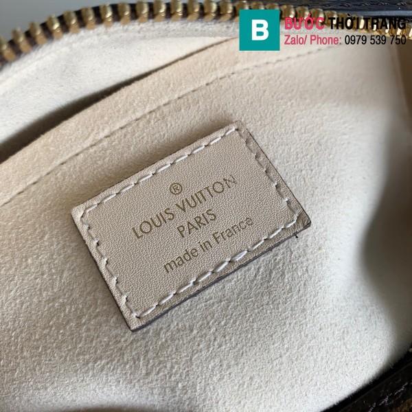 Túi xách Louis Vuitton Locky BB siêu cấp màu trắng ngà size 20 cm - M48818