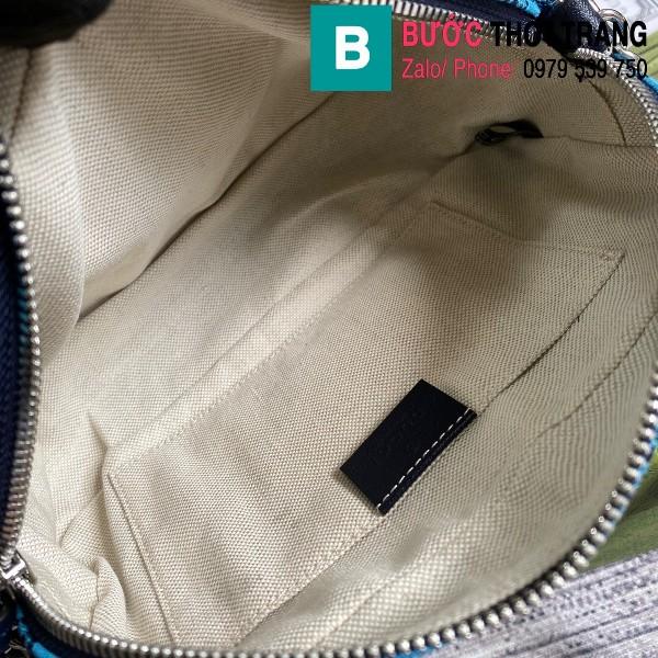 Túi xách Gucci Marmont small shoulder bag siêu cấp casvan màu xanh size 24cm - 447632