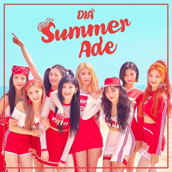 Download [Full Album] DIA - SUMMER ADE Mp3 Album Cover