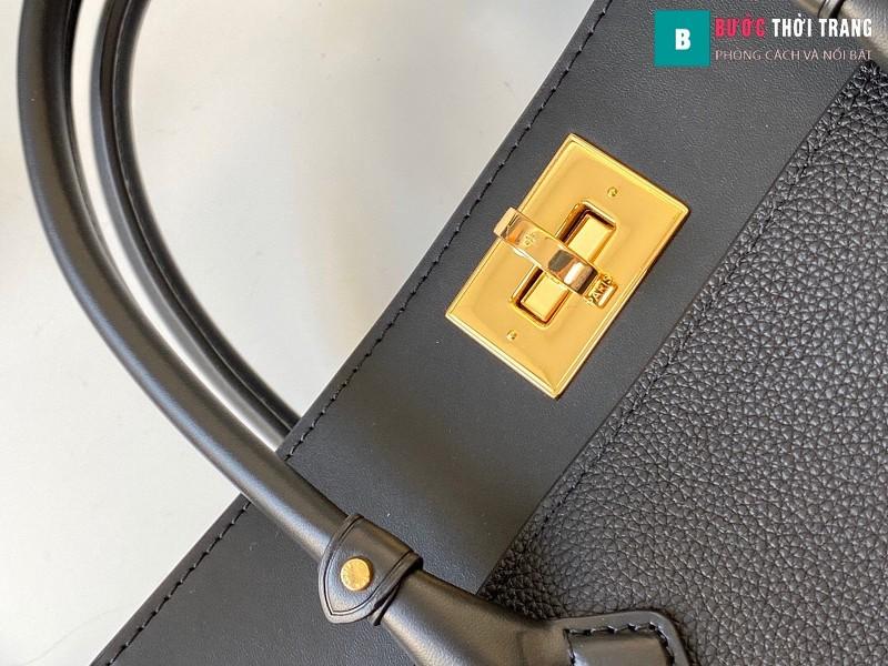 Túi xách LV Louis Vuitton On my side siêu cấp màu đen size 30.5 cm - M53826