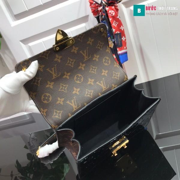 Túi xách LV Louis vuitton Wynwood Shoulder siêu cấp màu đen size 21 cm - M90442