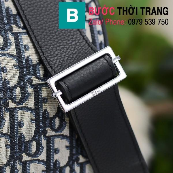 Túi xách Dior Oblique Bag siêu cấp cỡ lớn vải casvan màu 1 size 48cm