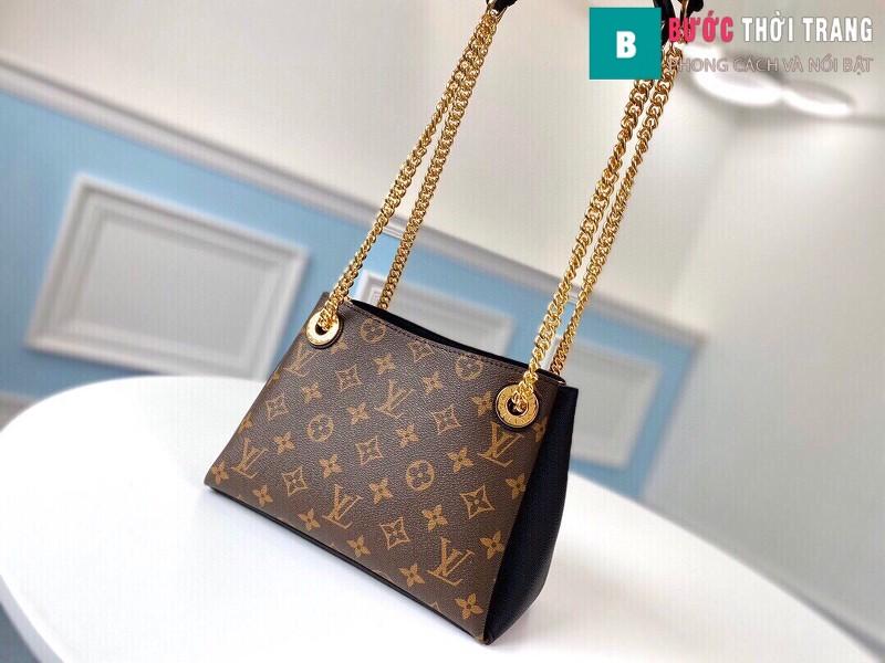 Túi xách LV LOUIS VUITTON Surene BB Chain Shoulder Bag siêu cấp màu đen size 24cm - M 43775
