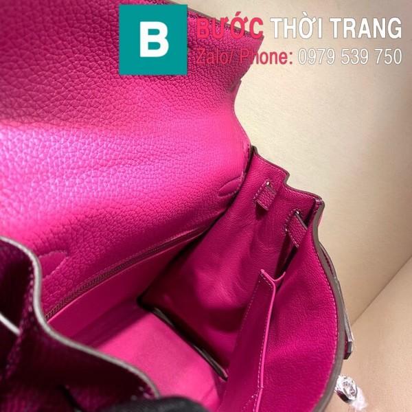 Túi xách Hermes Kelly siêu cấp da togo màu  tím size 28cm