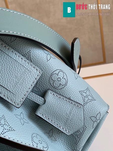 Túi xách LV Louis Vuitton Muria siêu cấp màu xanh size 25 cm - M55906