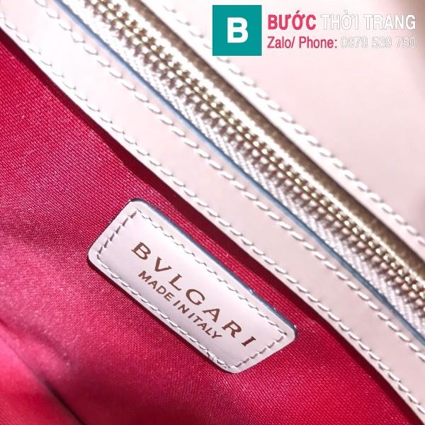 Túi Bvlgari Serventi Forever shoulder bag siêu cấp da bê màu da size 28cm - 35106
