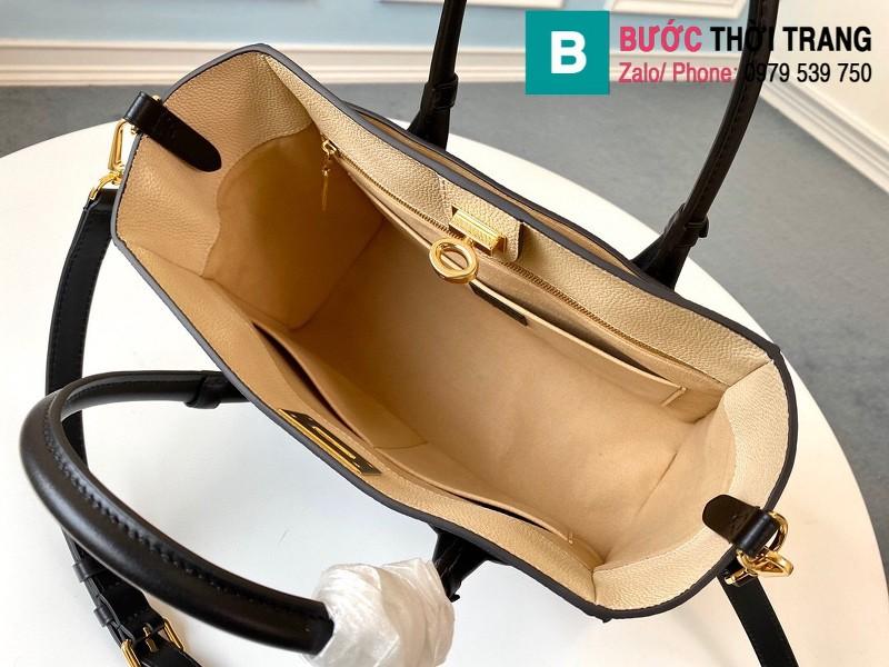 Túi xách Louis Vuitton On My Side siêu cấp da bê màu rêu size 30.5 cm - M55302