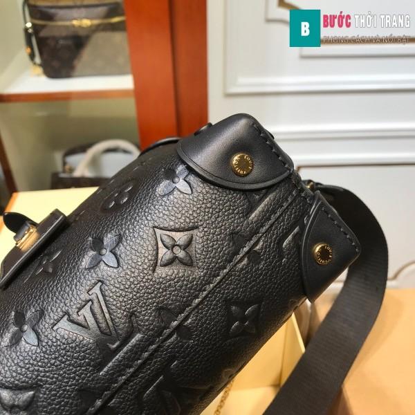 Túi xách LV Louis Vuitton Petite malle souple siêu cấp màu đen size 20 cm - M45394