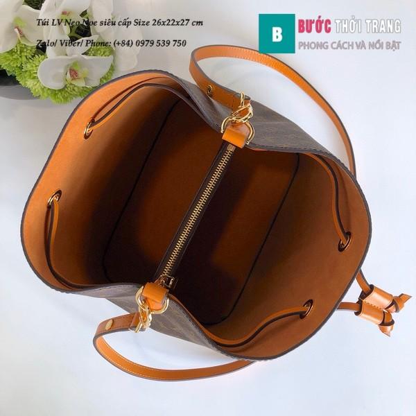 Túi xách LV Louis Vuitton Neo Noe siêu cấp dây màu cam nhạt size 26cm - M44430