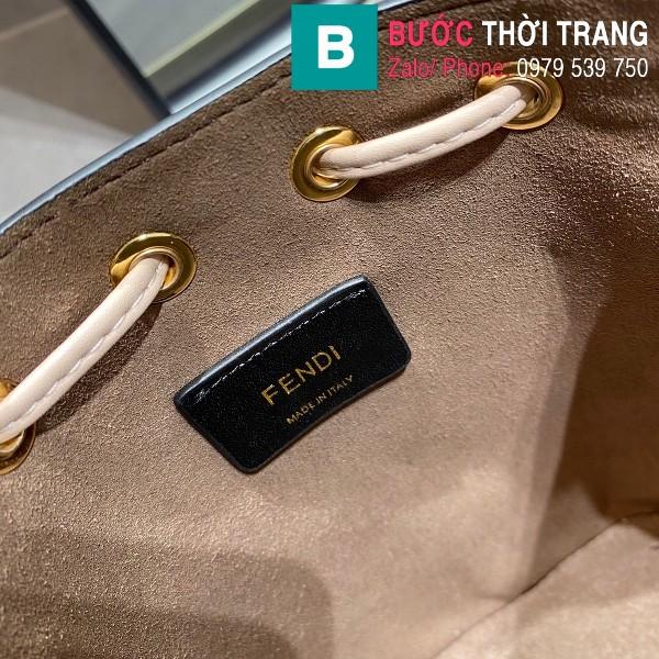 Túi xách Fendi Mon Tresor siêu cấp da bê màu cam size 12cm