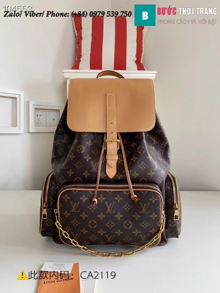 Túi Louis Vuitton Trio Backpack Travel Bag - LV M44658