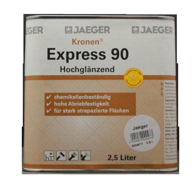 (25,96 €/l) Jaeger 90 Couronnes Express 2,5 L 1k-hochglanzlack Transparent-ck Transparent Fr-fr Afficher Le Titre D'origine PréVenir Et GuéRir Les Maladies