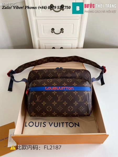 Túi Louis Vuitton Messenger PM shoulder bag - LV M43843