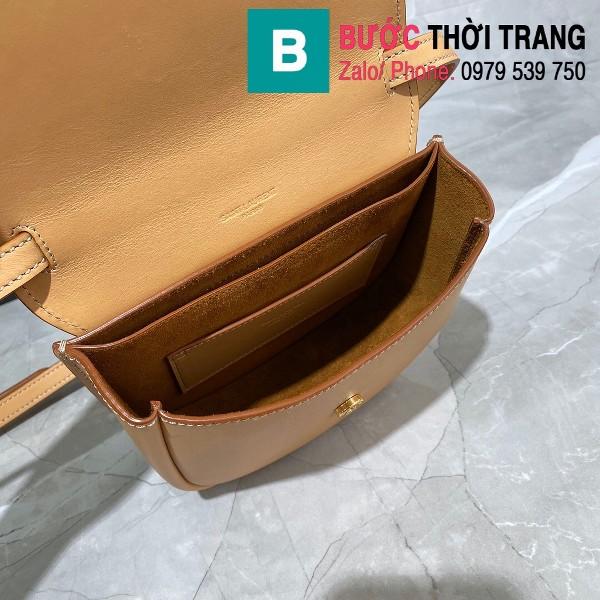 Túi xách YSL Saint Laurernt Kaia Small siêu cấp da bê màu nude size 18cm - 619740