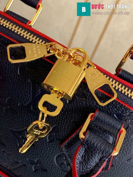 Túi xách LV Louis Vuitton Neo Alma BB siêu cấp màu xanh đen size 25 cm - M44829