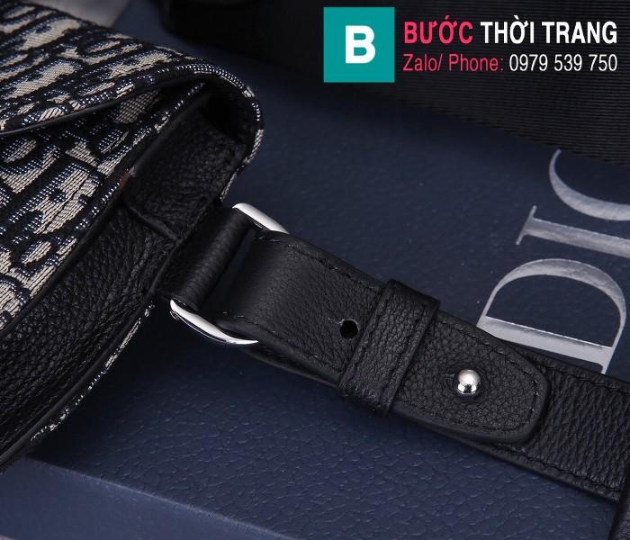 Túi xách Dior Saddle Bag {túi yên ngựa} siêu cấp vải canvas màu 1 size 24 cm