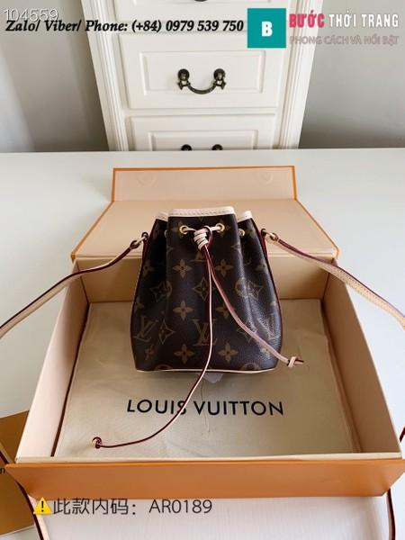 Túi Louis Vuitton Nano Noé Monogram - LV M41346