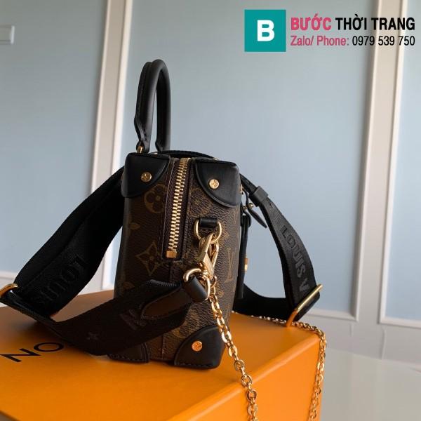Túi xách Louis Vuitton Locky BB siêu cấp màu đen size 20 cm - M48818