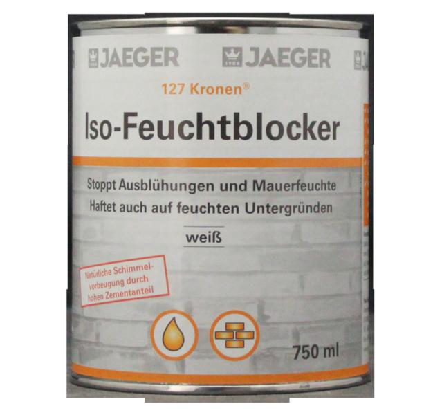 (23,33 €/l) Jaeger 127 Couronnes Iso-feuchtblocker 0,75 L Blanc-ker 0,75l Weiss Fr-fr Afficher Le Titre D'origine