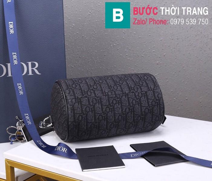 Túi xách Dior Roller Oblique Messenger Bag siêu cấp vải casvan màu 1 size 21.3cm - 93304