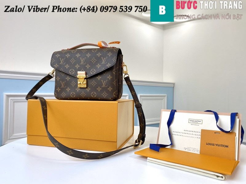 Túi Louis Vuitton Pochette Métis Monogram Canvas - LV M40780