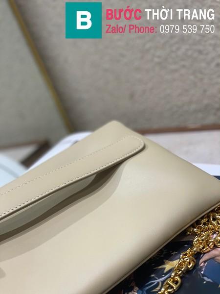 Túi xách Dior Small Diordouble Bag siêu cấp da bê màu xám size 22cm - 6842