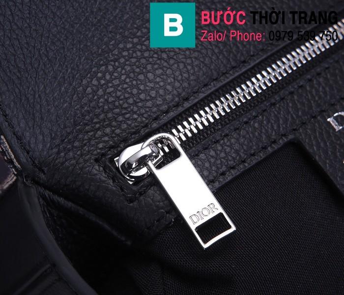 Túi đeo chéo Dior Oblique Bag siêu cấp vải casvan màu 1 size 16cm - CD93306