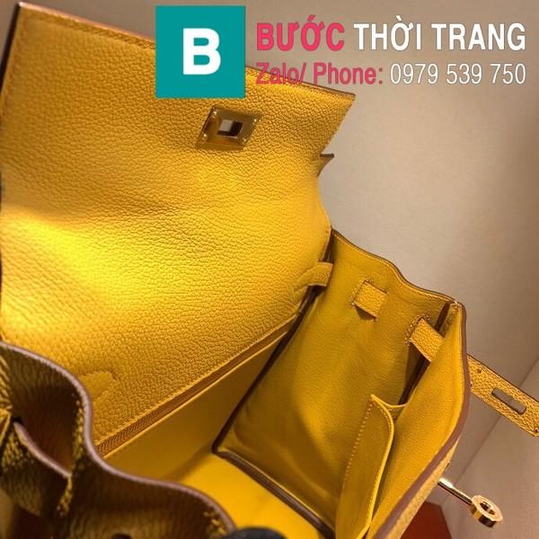 Túi xách Hermes Kelly siêu cấp da togo màu vàng size 28cm
