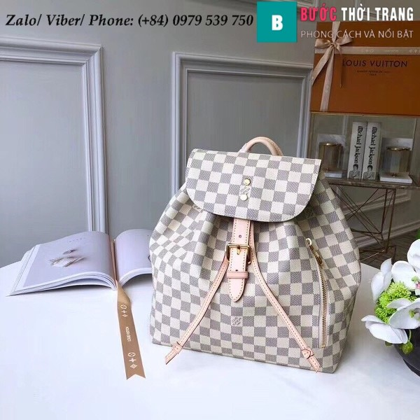 Túi Louis Vuitton Sperone Damier Azur Canvas - LV N41578