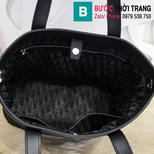Túi xách Dior Oblique Bag siêu cấp cỡ lớn vải casvan màu 1 size 44cm