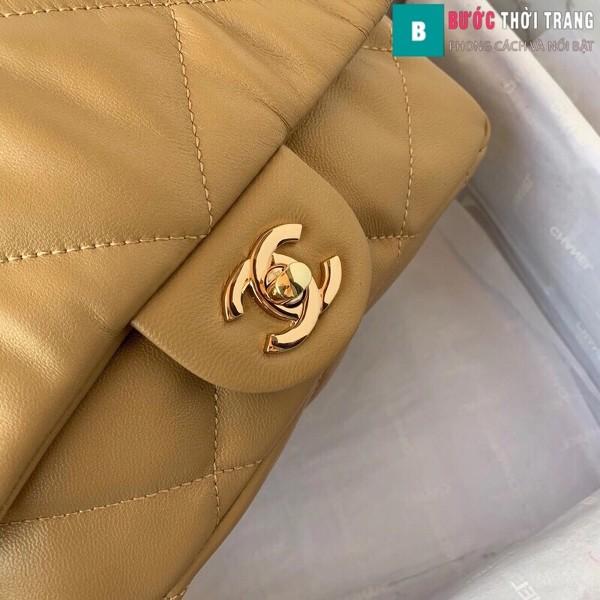 Túi xách đeo chéo Chanel siêu cấp mẫu mới màu da size 25 cm