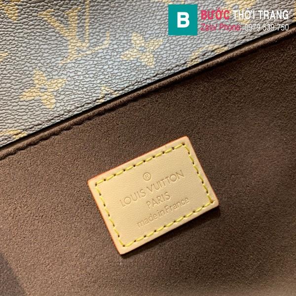 Túi Louis Vuitton Pochette Mettis siêu cấp màu nâu size 25 cm - M40780