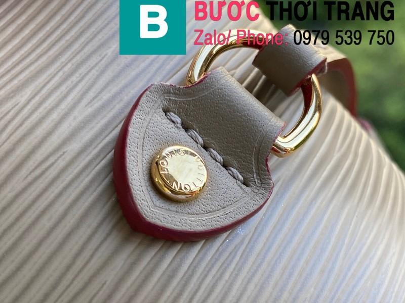 Túi xách Louis Vuitton Neverfull MM siêu cấp da Epi màu xám size 32 cm - M56947
